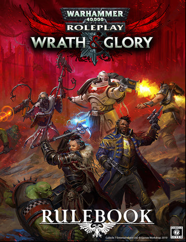 Wrath & Glory Core Rulebook: Warhammer 40,000 Roleplay (Revised Edition) + complimentary PDF