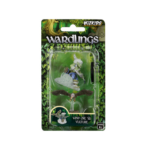 WizKids Wardlings Miniatures: Wind Orc & Vulture