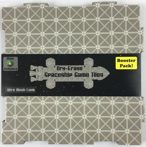 Dry Erase Dungeon Tiles: Wire Mesh Square Booster Pack