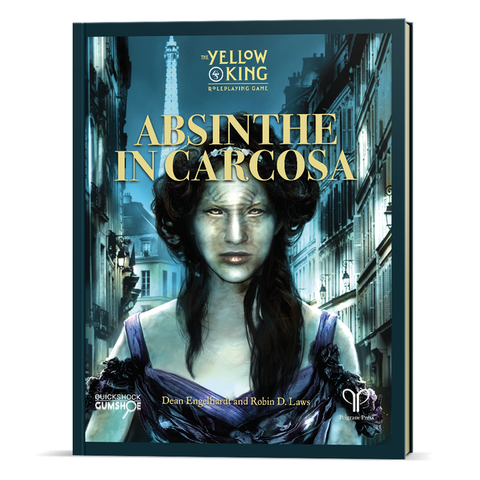 The Yellow King RPG: Absinthe in Carcosa sourcebook