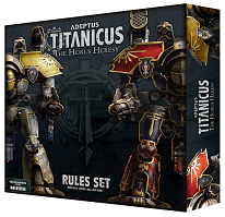 Adeptus Titanicus: The Horus Heresy - Rules Set - Leisure Games