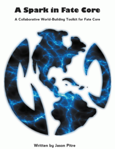 A Spark in Fate Core + complimentary PDF - Leisure Games