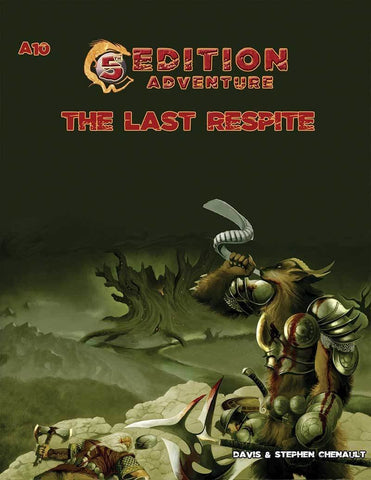5th Edition: A10 The Last Respite - Leisure Games