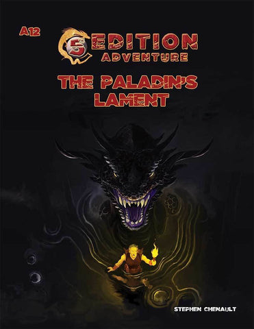 5th Edition: A12 The Paladin's Lament - Leisure Games