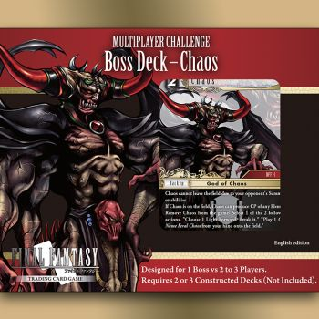 Final Fantasy Multiplayer Challenge Boss Deck - Chaos (release date 5th March)