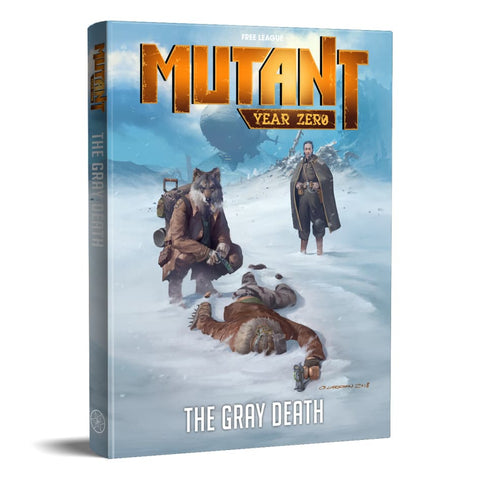 Mutant Year Zero: The Gray Death (expected in stock on 16th December)