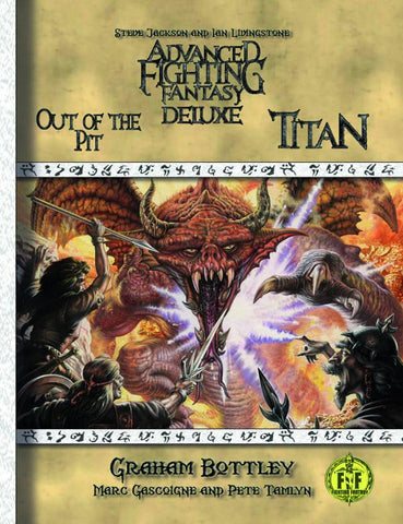 Advanced Fighting Fantasy Deluxe + complimentary PDF - Leisure Games