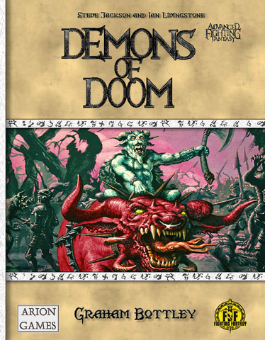 Advanced Fighting Fantasy: Demons of Doom + complimentary PDF