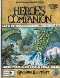 Advanced Fighting Fantasy: Heroes Companion + complimentary PDF
