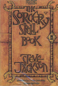 Advanced Fighting Fantasy: Sorcery Spell Book + complimentary PDF - Leisure Games