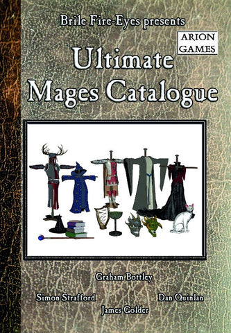 Advanced Fighting Fantasy: Ultimate Mage's Catalogue + complimentary PDF - Leisure Games