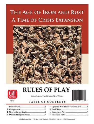 Time of Crisis: The Age of Iron & Rust Expansion