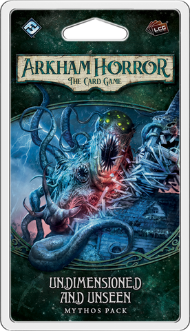 Arkham Horror The Card Game: Undimensioned and Unseen Mythos Pack - Leisure Games