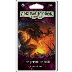 Arkham Horror: The Card Game - The Depths of Yoth Mythos Pack (release date 11th October)