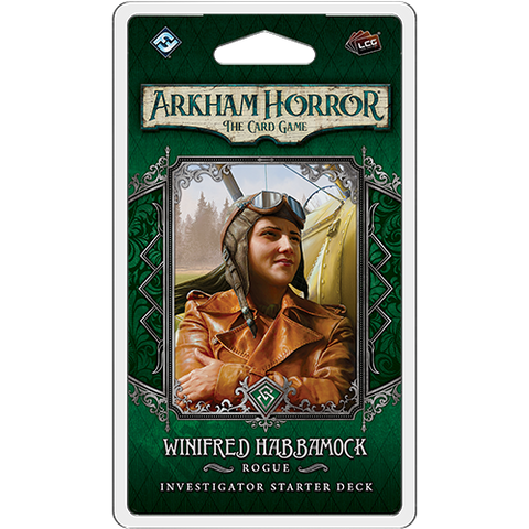 Arkham Horror The Card Game: Winifred Habbamock Investigator Starter Deck