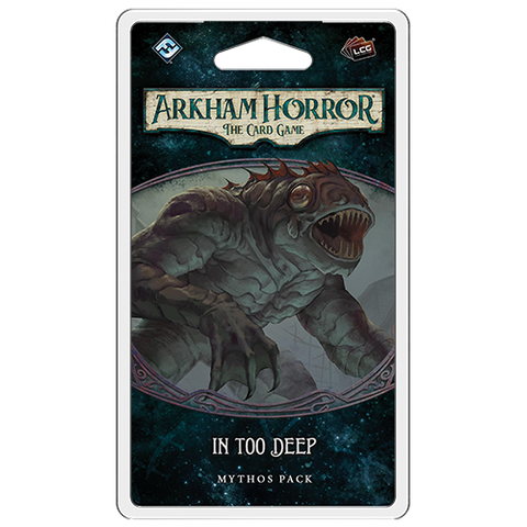 Arkham Horror the Card Game: In Too Deep - Mythos Pack