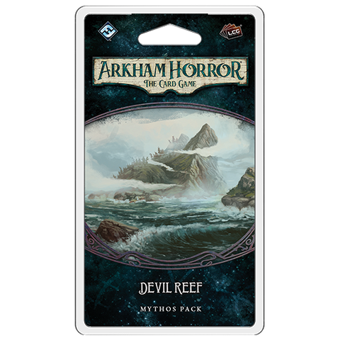 Arkham Horror the Card Game: Devil Reef - Mythos Pack (release date 4th December)