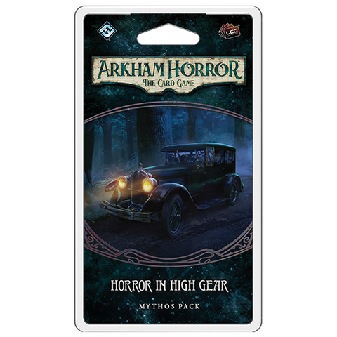 Arkham Horror the Card Game: Horror In High Gear- Mythos Pack