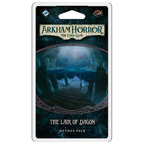 Arkham Horror The Card Game: The Lair Of Dagon Mythos Pack