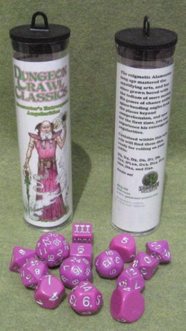 Dungeon Crawl Classics Dice: Alamanter's Extraspacial Angularities