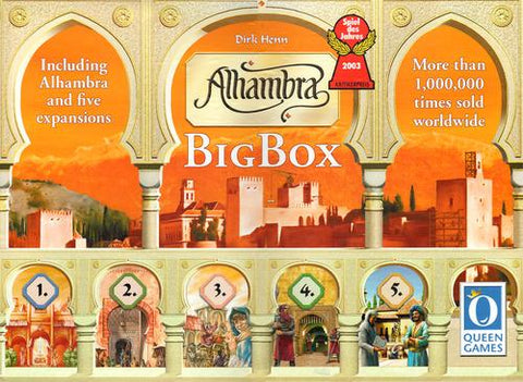 Alhambra: Big Box - Leisure Games