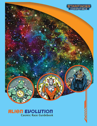 Alien Evolution: Cosmic Race Guidebook (Starfinder compatible) - Leisure Games