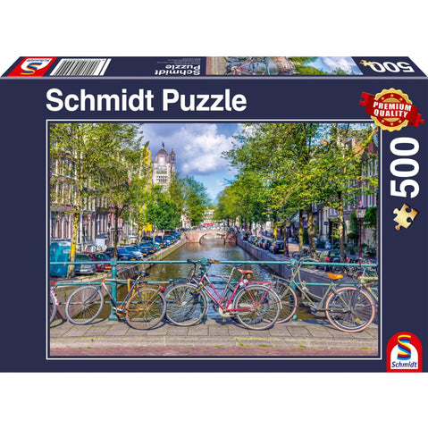 Jigsaw: Spring Time in Amsterdam (500pc)