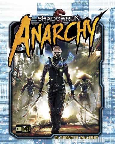 Shadowrun: Anarchy (hardcover)