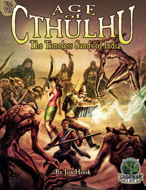 Age of Cthulhu 7: The Timeless Sands of India - Leisure Games