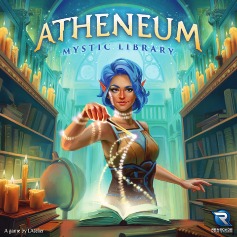 Atheneum: Mystic Library (expected in stock on 27th October)