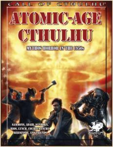 Call of Cthulhu: Atomic Age Cthulhu + complimentary PDF - Leisure Games