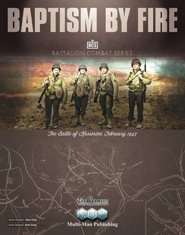 Baptism By Fire: The Battle of Kasserine - Leisure Games
