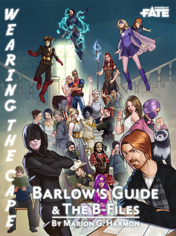 Wearing the Cape: Barlow's Guide and The B-Files