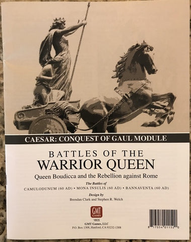 Caesar's Conquest of Gaul: Battles of the Warrior Queen - Leisure Games