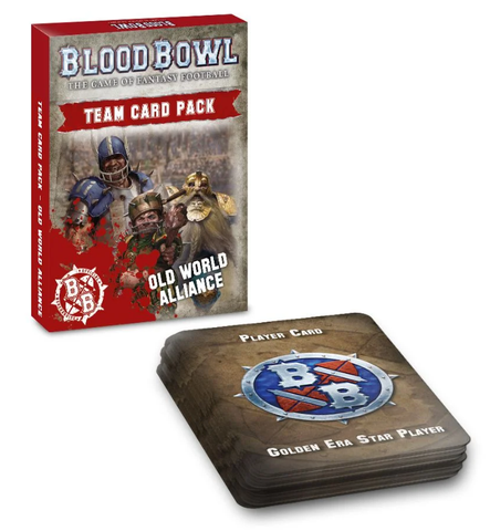 Blood Bowl: Old World Alliance Team Card Pack - reduced price