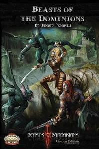 Savage Worlds Beasts & Barbarians: Beasts of the Dominions