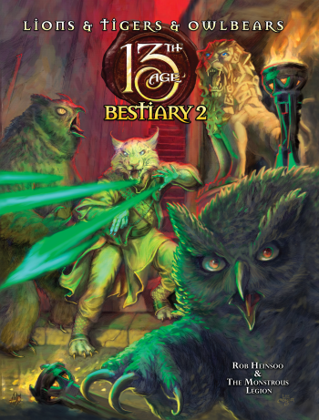 13th Age Bestiary 2 + complimentary PDF - Leisure Games