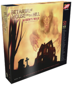 Betrayal at House on the Hill: Widow's Walk - Leisure Games