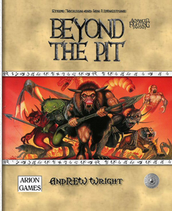 Advanced Fighting Fantasy: Beyond The Pit + complimentary PDF - Leisure Games