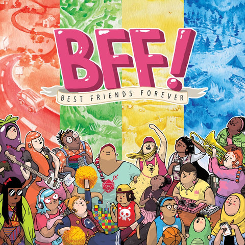 BFF! Best Friends Forever (expected in stock on 2nd April)