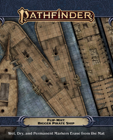 Pathfinder Flip-Mat: Bigger Pirate Ship (expected in stock on 24th November)