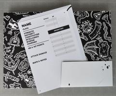 The Black Hack Character Sheets & Folder (in stock now)