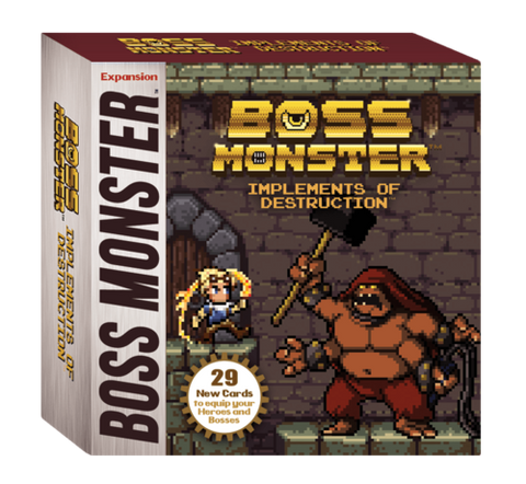 Boss Monster: Implements of Destruction - Leisure Games
