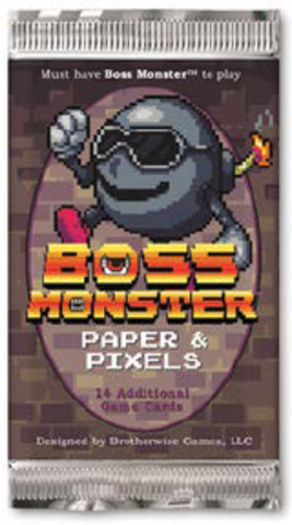 Boss Monster: Paper and Pixels Foil - Leisure Games