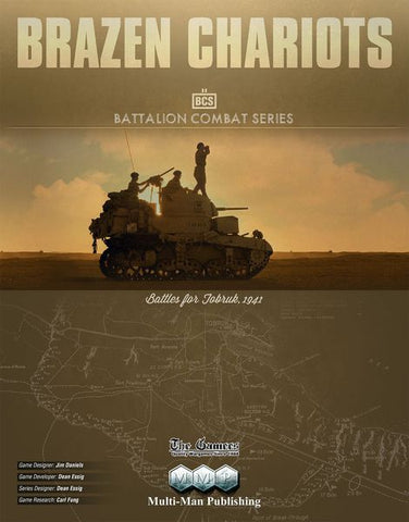 Brazen Chariots: Battles for Tobruk, 1941