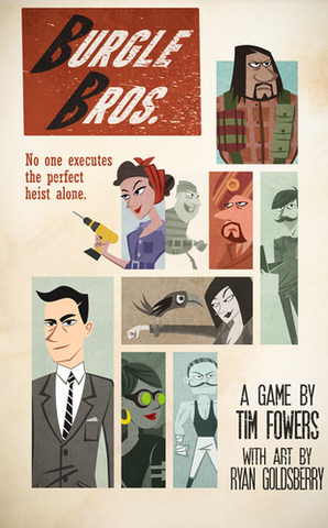 Burgle Bros - Leisure Games