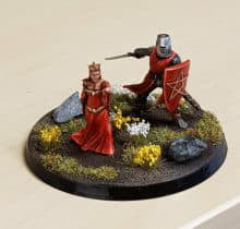 Chivalry & Sorcery: Gawain and Morgana Miniatures