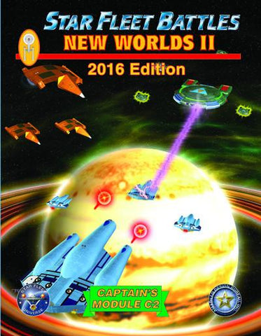 Star Fleet Battles: Module C2 - New Worlds II - 2016 Edition