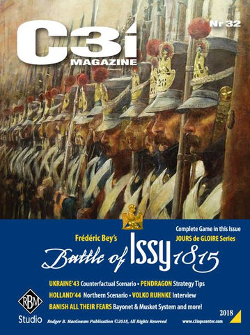 Marc Herman/'s Gettysburg Frédéric Bey/'s Battle of Issy 1815 C3i Magazine #32
