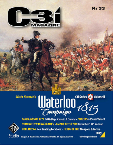 C3i #33 - The Waterloo Campaign 1815